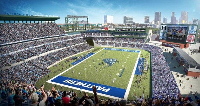 Future Turner Field/GSU stadium