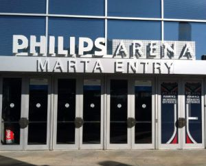 Philips Arena MARTA entry