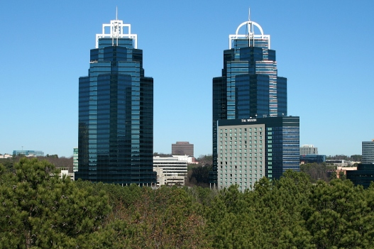 King and Queen Buildings Atlanta