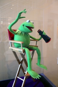 Kermit at Center for Puppetry Arts