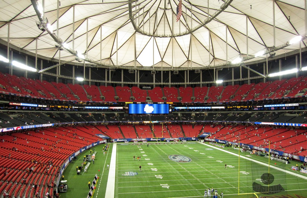 Marta to the georgia dome marta guide for Hotels close to mercedes benz stadium atlanta ga