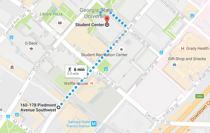 MARTA to GSU Student Center