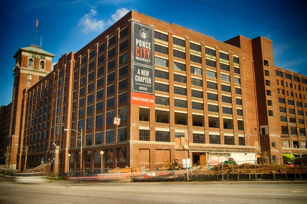 Ponce City Market is near the North Avenue and Inman Park MARTA stations.