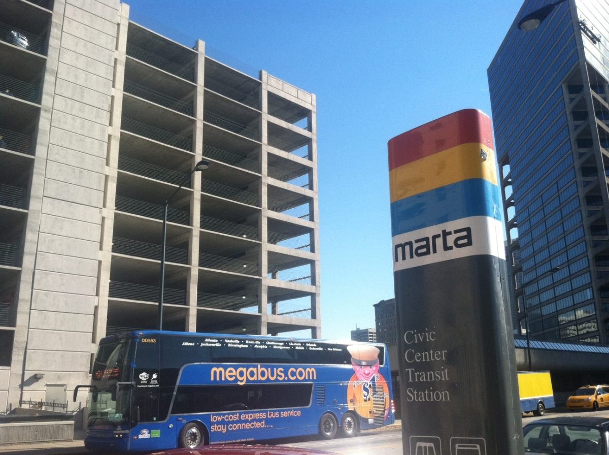 Marta to the megabus marta guide for Allart center