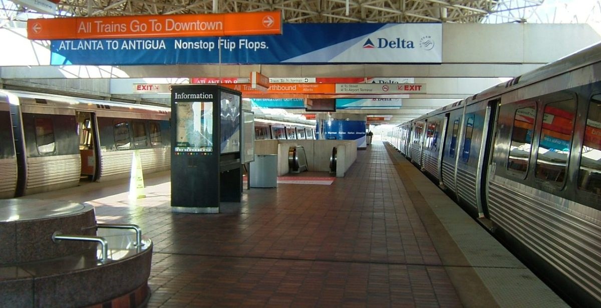 Tips for Riding MARTA to and from the Atlanta Airport