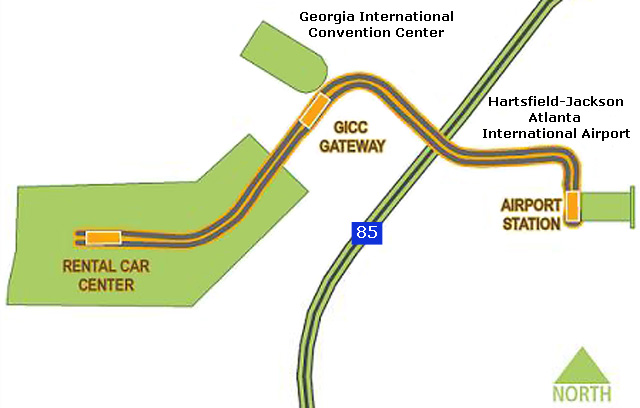Atlanta Hartsfield Airport Rental Car Center