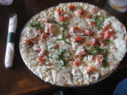 Royal Oak Pub pizza