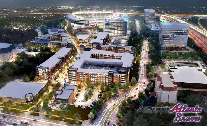 SunTrust Park Atlanta Braves games