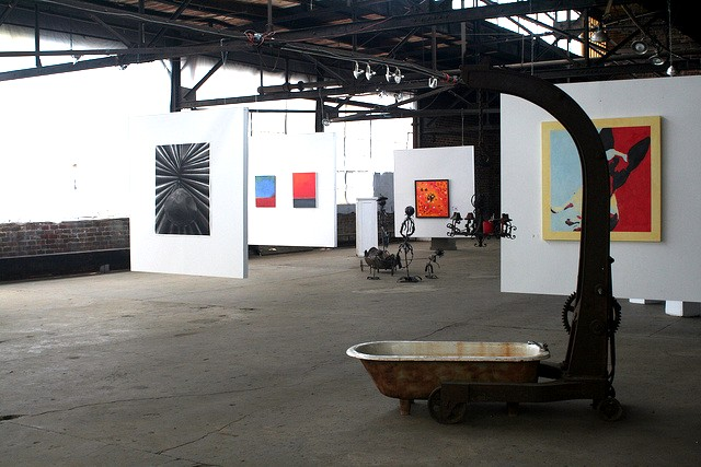Art on display at the B Complex