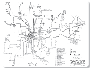 A history of Atlanta transit in the days of Martin Luther
