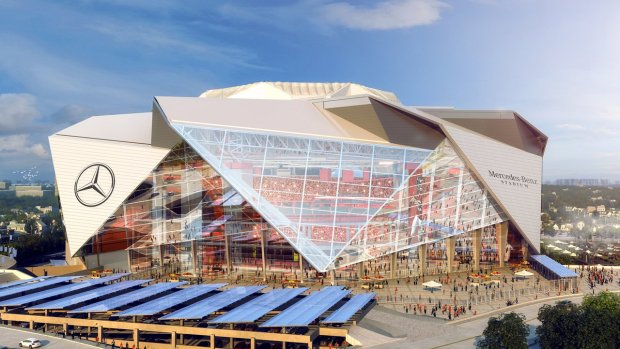 Super bowl atlanta marta guide for Hotels near the mercedes benz stadium
