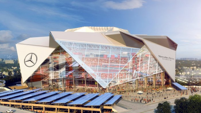 Mercedes-Benz Atlanta Falcons stadium