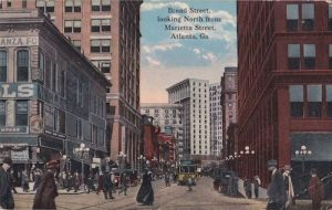 Historic downtown Atlanta