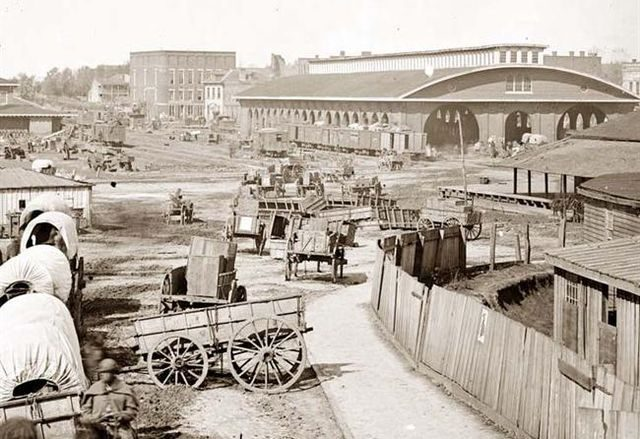 Atlanta's first Union Station
