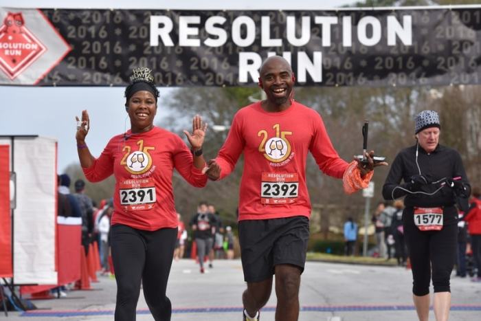 Resolution Run Atlanta Brookhaven