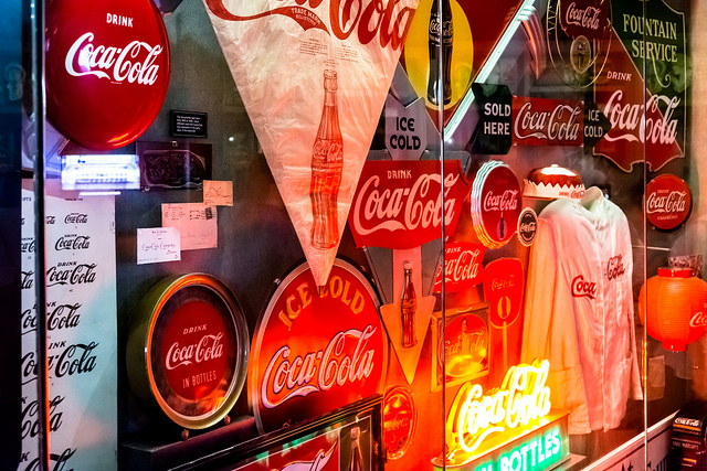 World of Coca-Cola exhibit